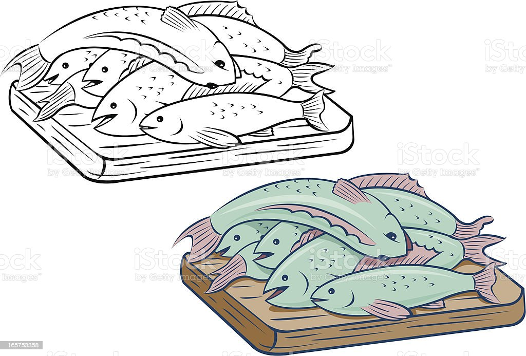 Fish Catch royalty-free fish catch stock vector art & more images of catch of fish