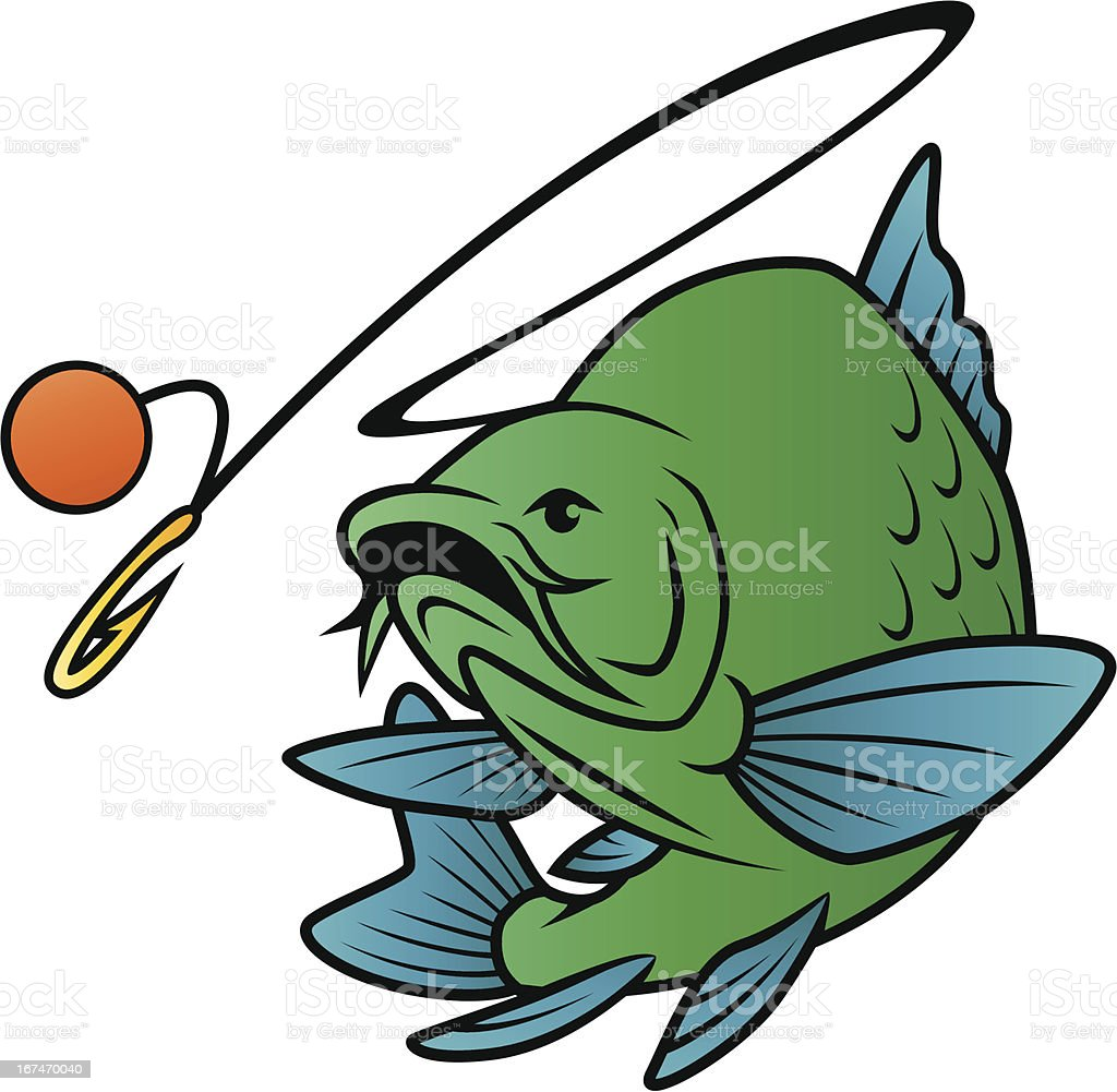 Fish Chases Bait royalty-free fish chases bait stock vector art & more images of animal