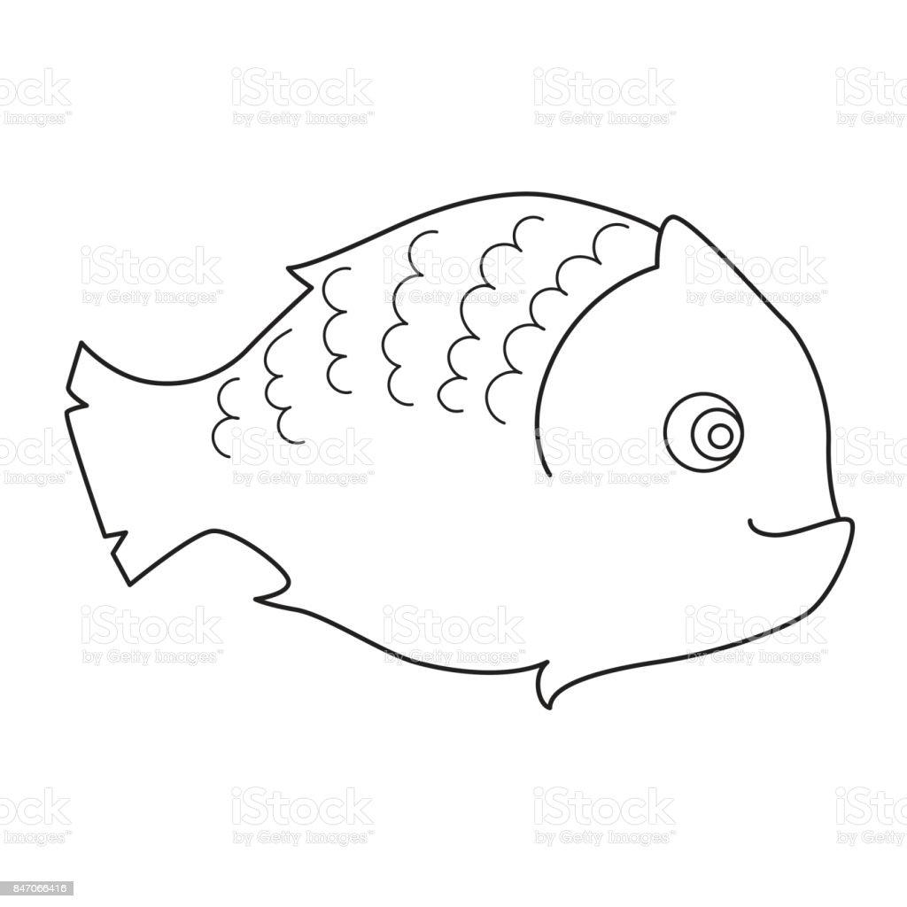 Fische Malvorlagen Für Kinder Stock Vektor Art Und Mehr Bilder Von