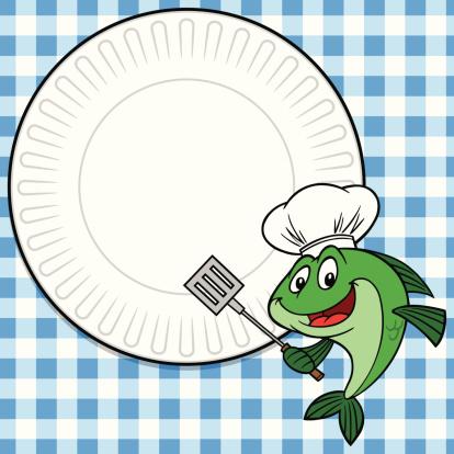 Fish Cookout Invitation