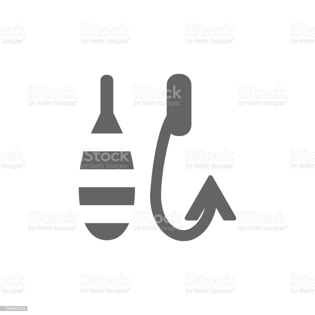 Fish Hook Lure Icon Simple Vector Summer Icons For Ui And Ux Website Or Mobile Application Stock Illustration Download Image Now Istock
