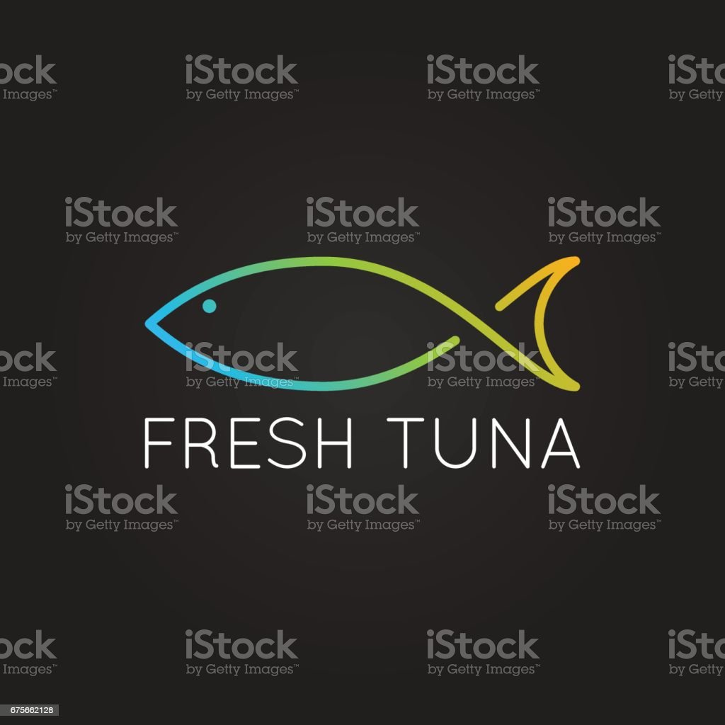 fish icon design vector background vector art illustration