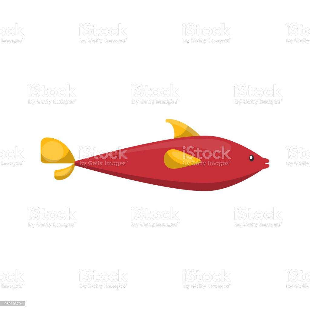 fish icon. Sea life design. Vector graphic fish icon sea life design vector graphic - immagini vettoriali stock e altre immagini di acqua royalty-free