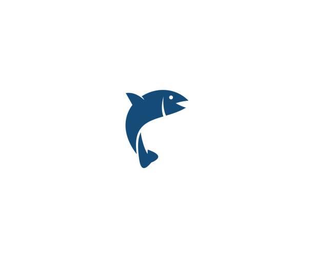 ilustrações de stock, clip art, desenhos animados e ícones de fish icon - peixe