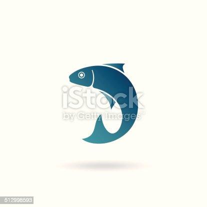 istock Fish icon 512998593