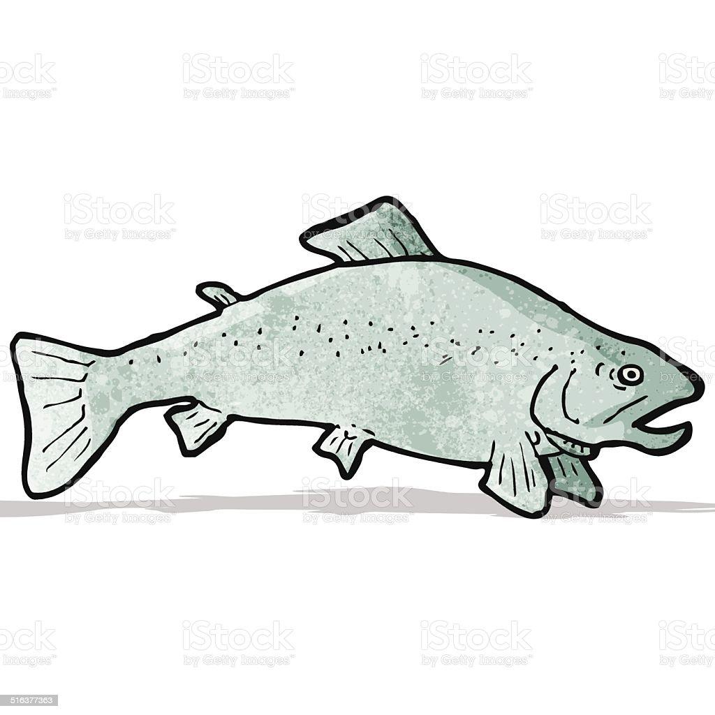 Fischabbildung Stock Vektor Art und mehr Bilder von Bizarr 516377363 ...