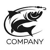 fish salmon logo
