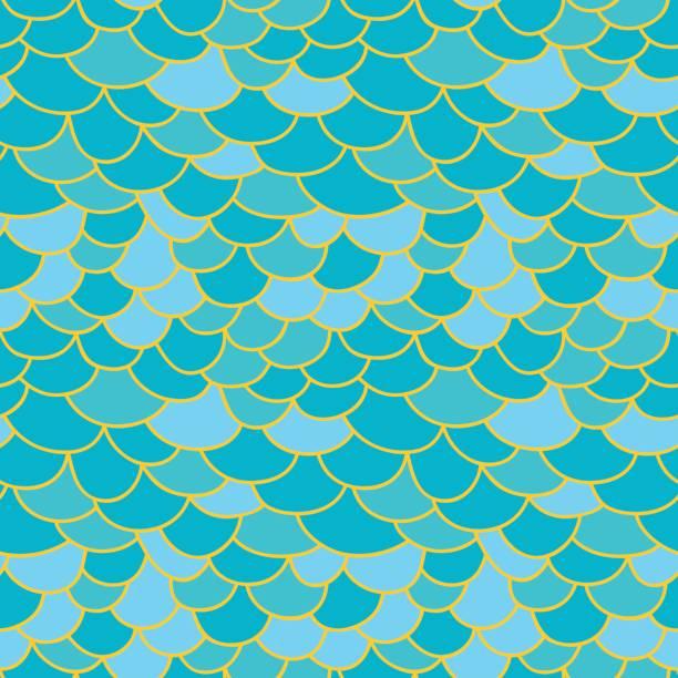 Pescado de fondo de escala - ilustración de arte vectorial