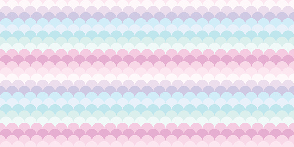 Fish scale colorful abstract geometric background pattern