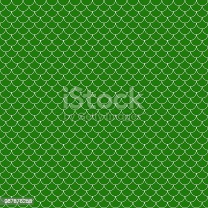 Free Dragon Scales Seamless Pattern Swatch for Adobe
