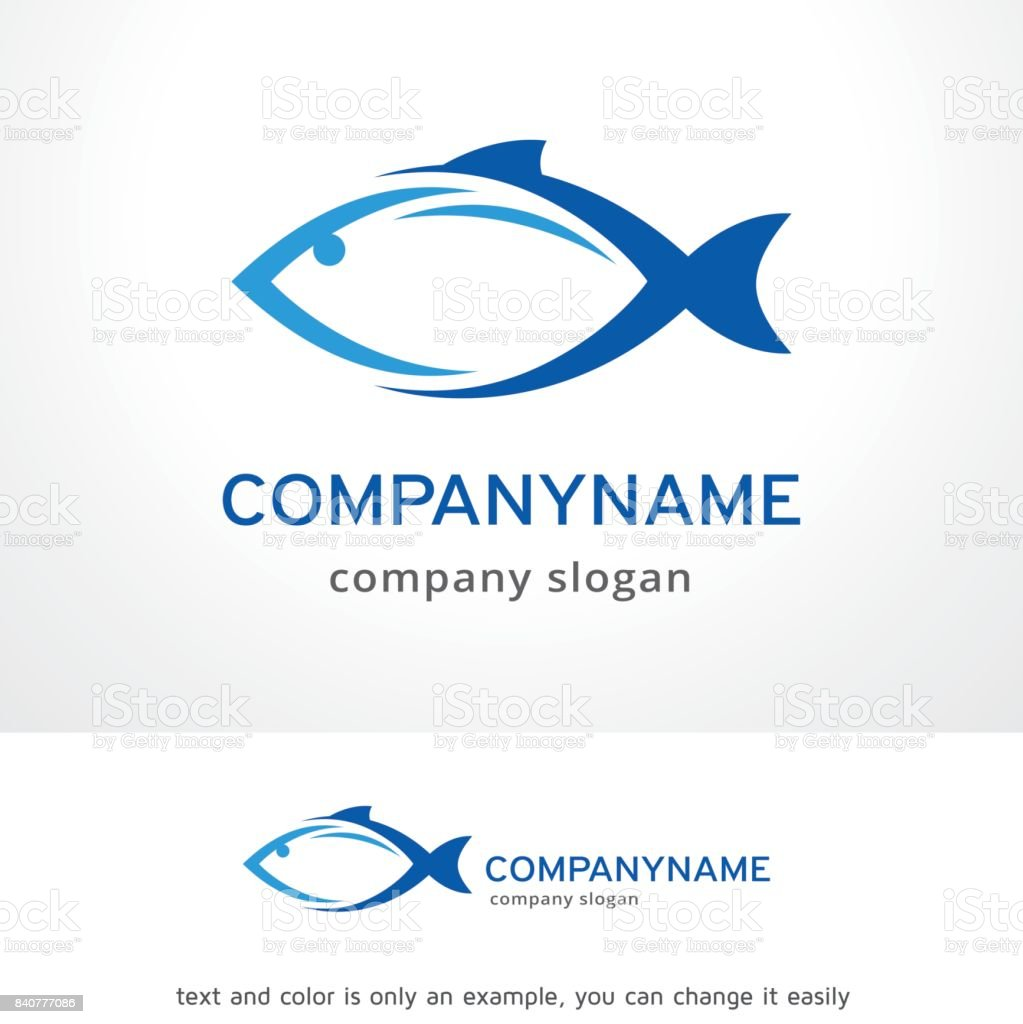Fish symbol template design vector emblem design concept creative fish symbol template design vector emblem design concept creative symbol icon royalty buycottarizona Gallery