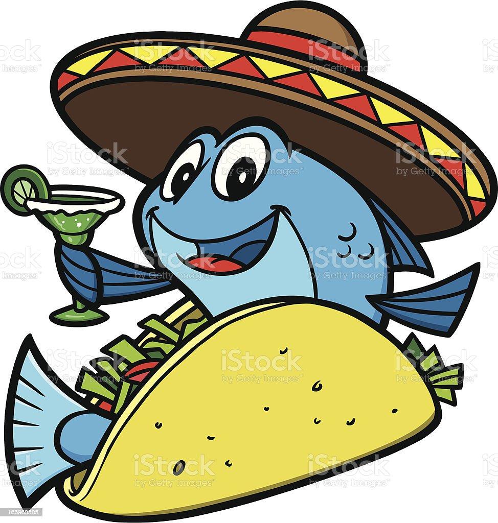 royalty free fish tacos clip art vector images illustrations istock rh istockphoto com Seafood Clip Art Borders Mexican Clip Art