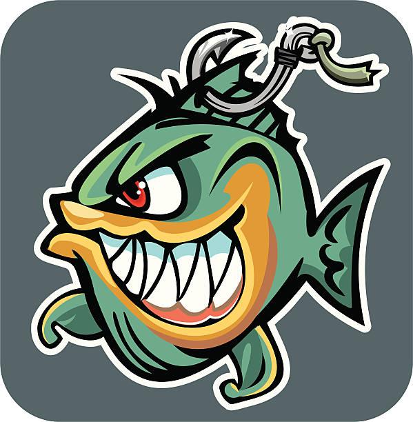 fish - haifischköder stock-grafiken, -clipart, -cartoons und -symbole