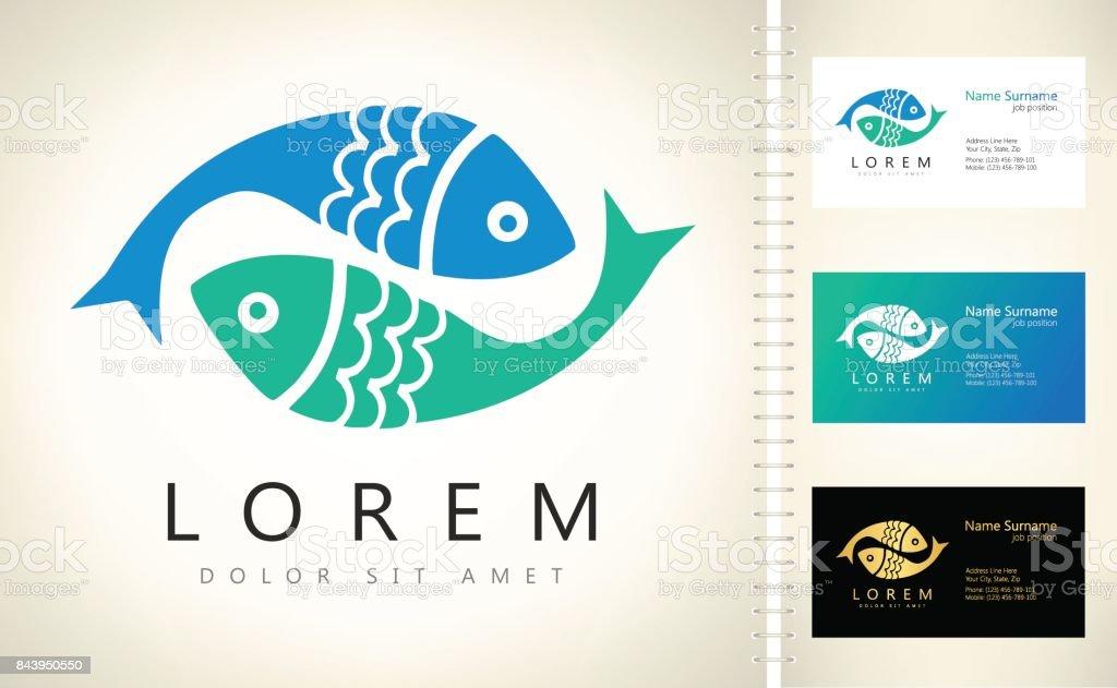 vector de peces - ilustración de arte vectorial