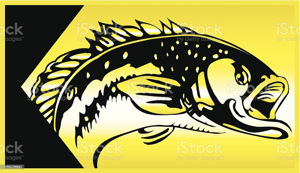 Fish2 royalty-free stock vector art