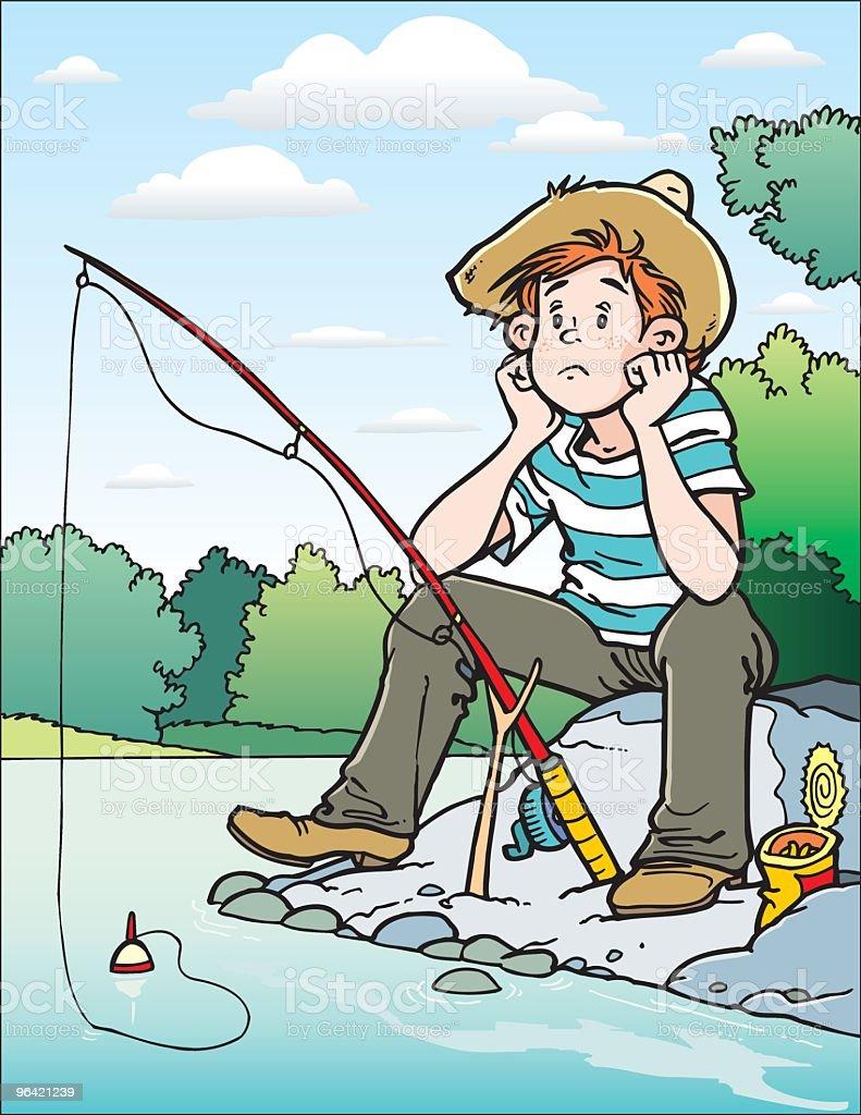 Fisher vector art illustration
