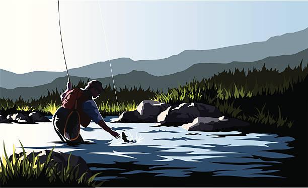 漁師 - 漁師点のイラスト素材/クリップアート素材/マンガ素材/アイコン素材