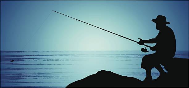 漁師 ベクターアートイラスト