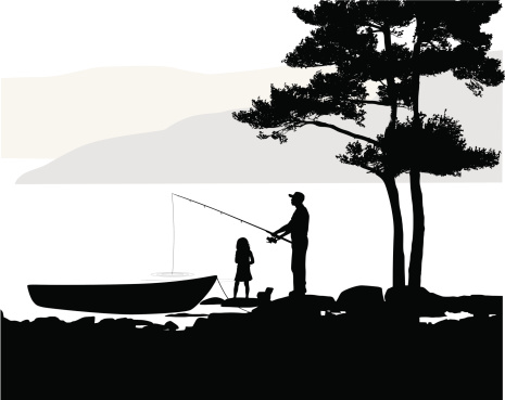Fishers Vector Silhouette