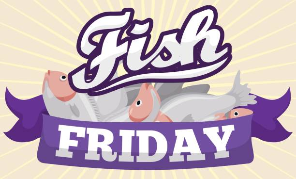 Royalty free lent clip art vector images illustrations for Fish on fridays during lent