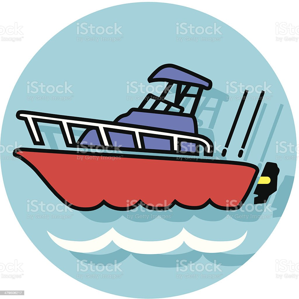 fishing boat icon royalty-free fishing boat icon stock vector art & more images of color image