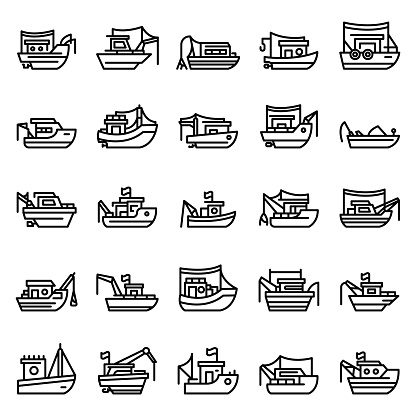 Download Pictures Of Fishing Boat Nets Clipart Vector In Ai Svg Eps Or Psd