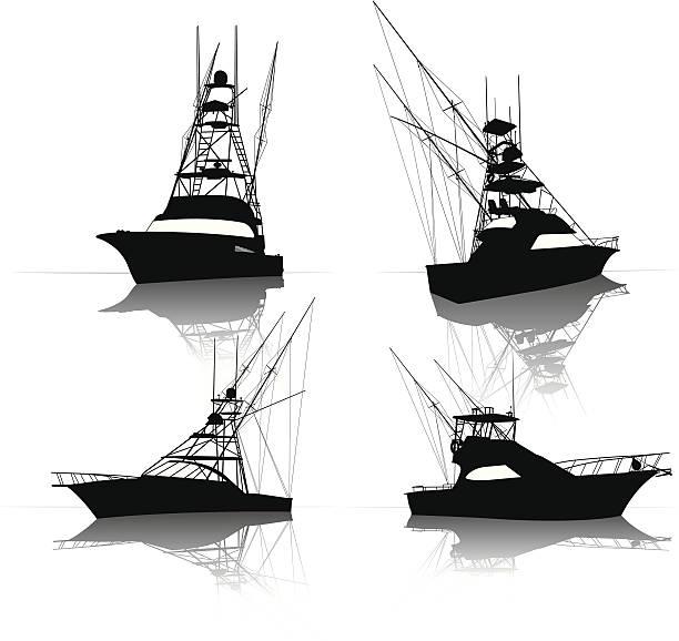 Fishing Boat Illustrations Royalty Free Vector Graphics Clip Art Istock
