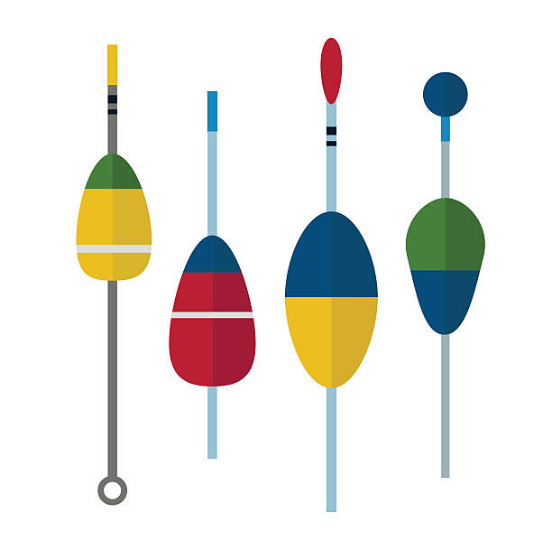 Royalty Free Fishing Bobber Clip Art, Vector Images ...