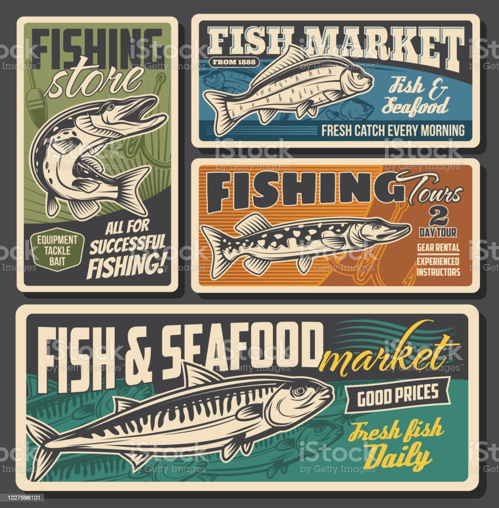 Fishing Equipment Store Seafood And ...