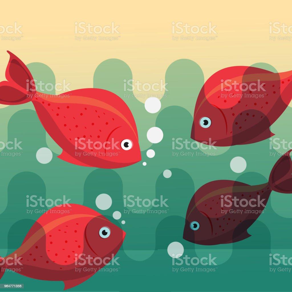 fishing fish cartoon royalty-free fishing fish cartoon stock vector art & more images of abstract