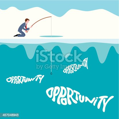Download Ice Fishing Vector Free Ai Svg And Eps