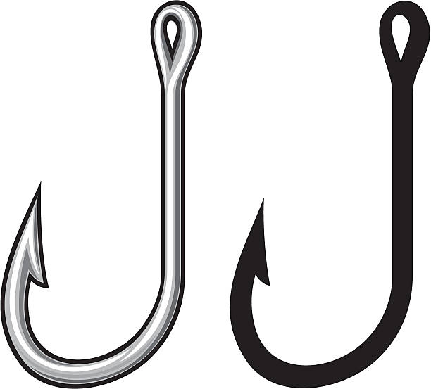 Royalty Free Fishing Hook Clip Art, Vector Images ... - photo#11