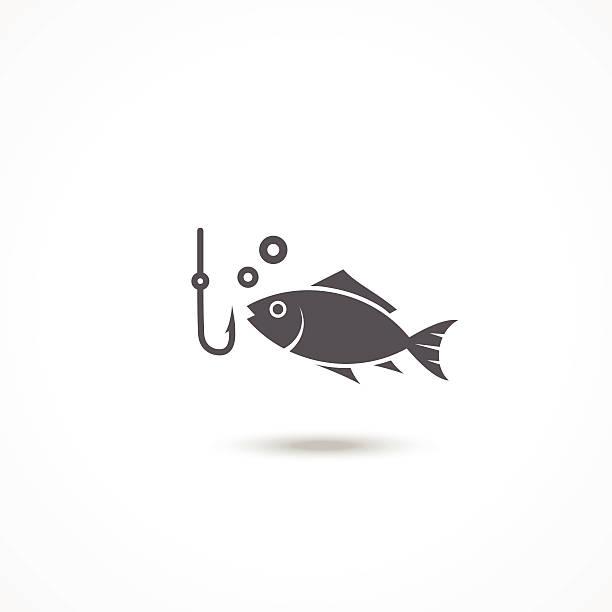 ikona połowów - rybactwo stock illustrations