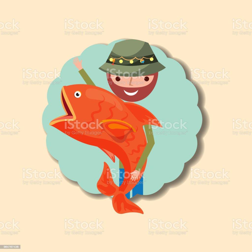 fishing people cartoon royalty-free fishing people cartoon stock vector art & more images of adult