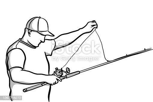 Fishing Rod Setup