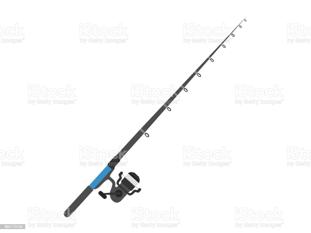 Fishing Rod Stock Vector Art & More Images of Catching 994173194 ...