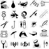 Fishing Tackle Icons