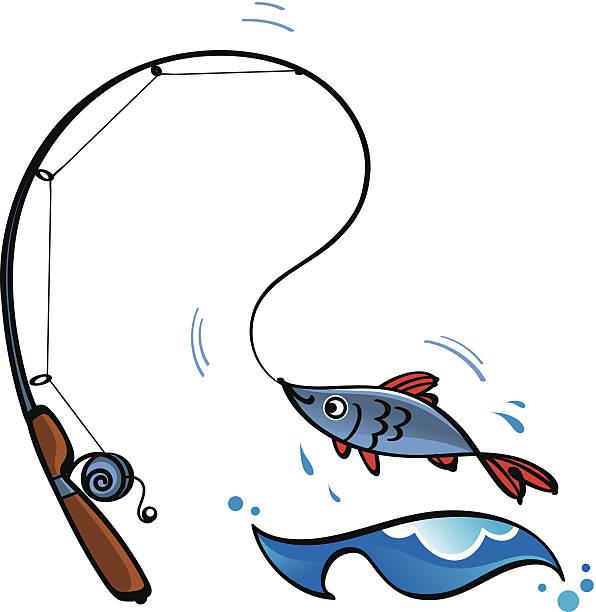 angeln - angelurlaub stock-grafiken, -clipart, -cartoons und -symbole