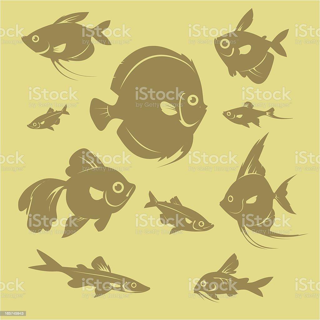 Fish-Shop royalty-free fishshop stock vector art & more images of amazon region