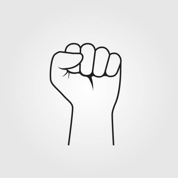ベクトルを手拳 - 拳 イラスト点のイラスト素材/クリップアート素材/マンガ素材/アイコン素材
