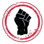 Fist stamp