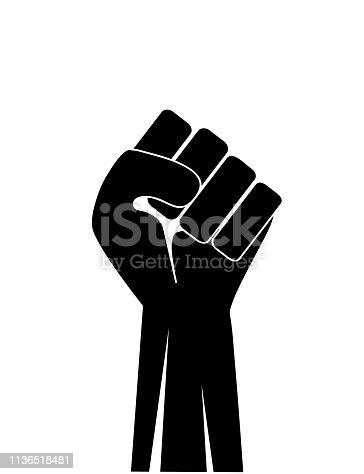 Fist up icon vector illustration