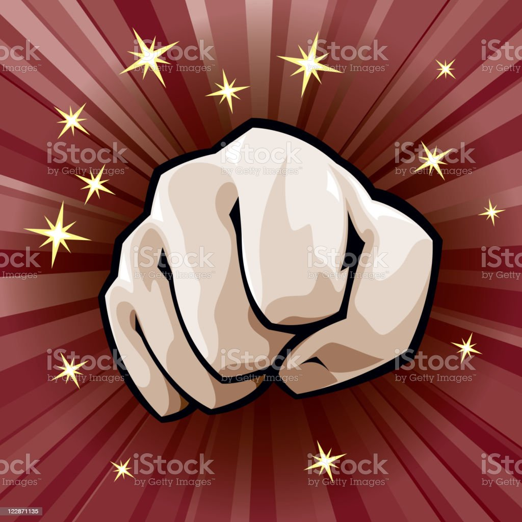 Fist royalty-free fist stock vector art & more images of color image
