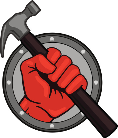 Fist with Hammer