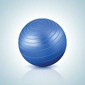 Fitball Gym illustration