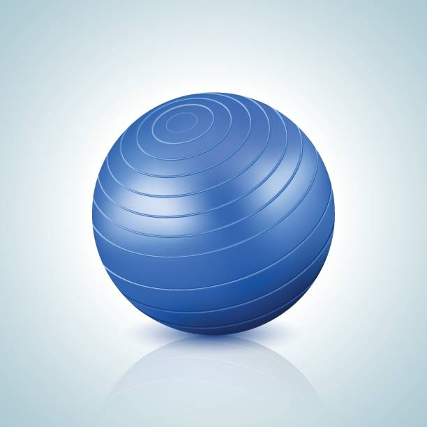 Balance Ball Xxl: Royalty Free Exercise Ball Clip Art, Vector Images
