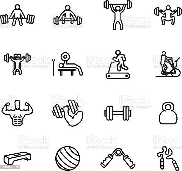 Fitness and exercise icon set vector illustration vector id516922276?b=1&k=6&m=516922276&s=612x612&h= 2aw3grk7p7obxkjrg5gsyw8fbukgamxcnuywijjmge=