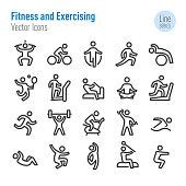 Fitness, Exercising,