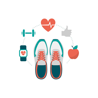 Fitness and sport clipart