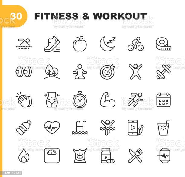 Fitness and workout line icons editable stroke pixel perfect for and vector id1138147384?b=1&k=6&m=1138147384&s=612x612&h=wp 1vqozaalaqvkxyv7rvggycqcpeurgbp3kufmaam4=